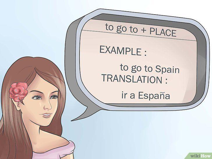 A spune și în limba spaniolă
