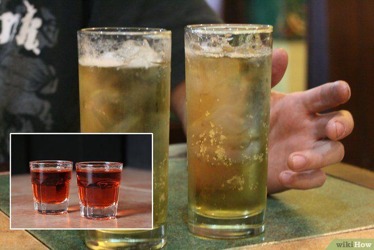 Imaginați-vă două băuturi înainte ca cineva să bea două fotografii Pasul 4