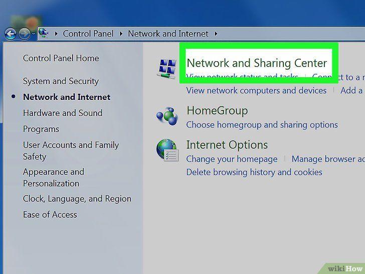 Imagine intitulată Conectați două calculatoare Pasul 3