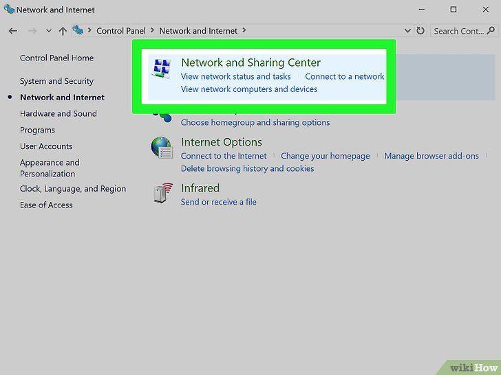 Imagine intitulată Combină două conexiuni la Internet Pasul 5