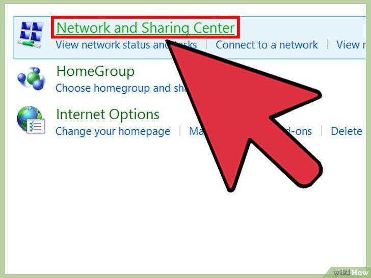 Imagine intitulată Conectați două laptopuri printr-o rețea LAN Pasul 5