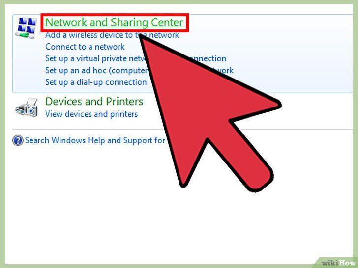 Imaginea intitulată Conectați două laptopuri printr-o rețea LAN Pasul 6