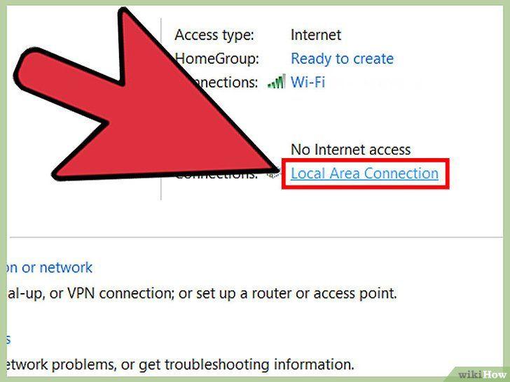 Imagine intitulată Conectați două laptopuri printr-o rețea LAN Pasul 7