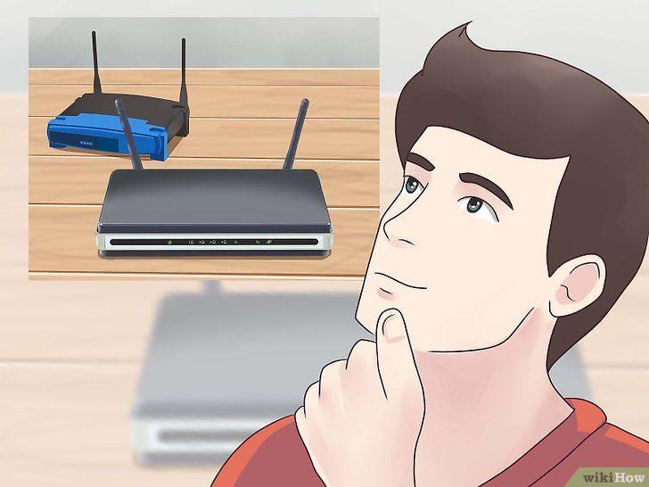 Imagine intitulată Conectați doi routere Pasul 1