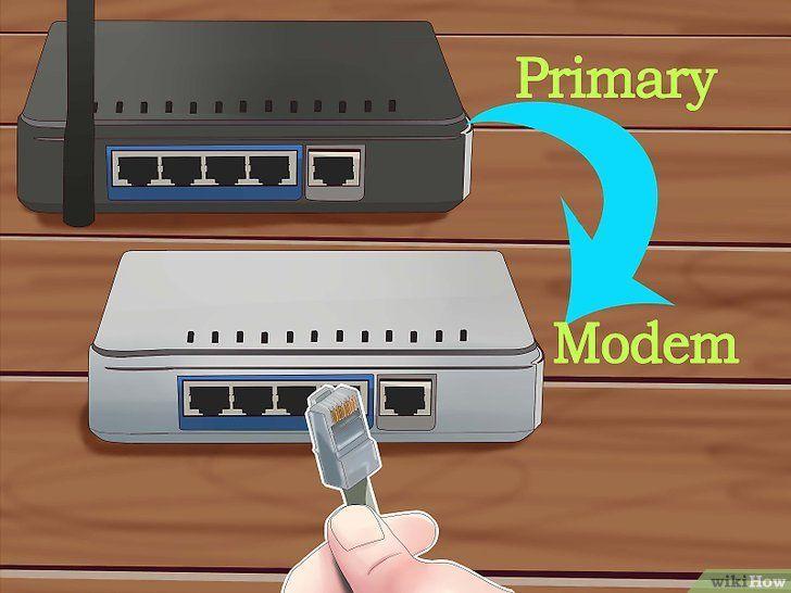 Imagine intitulată Conectați doi routere Pasul 13