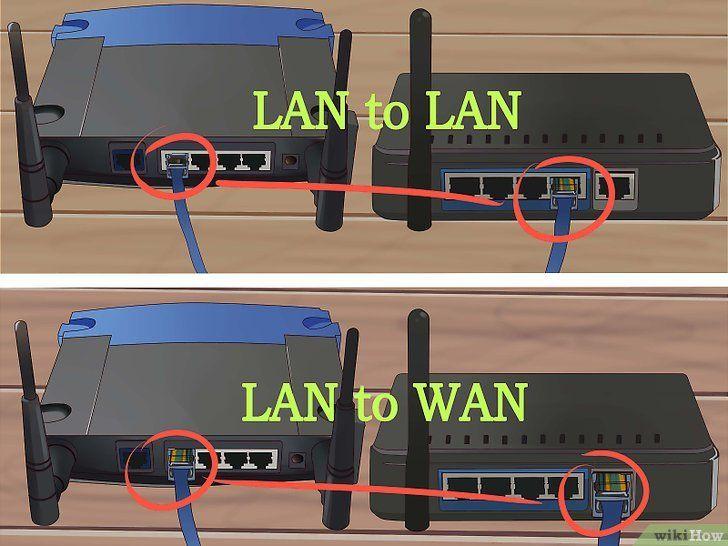 Imagine intitulată Conectați doi routere Pasul 10