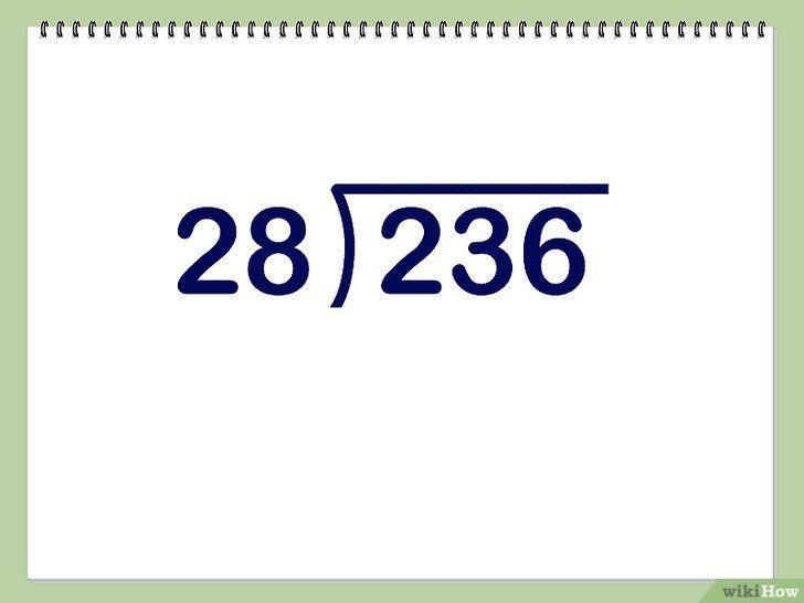 Imaginea intitulată Împărțiți cifrele cu două cifre Pasul 1