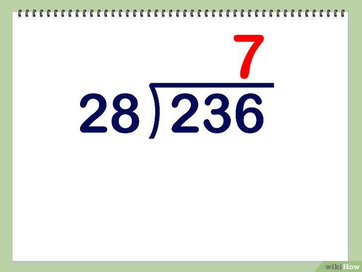 Imaginea intitulată Împărțiți dublu cifre Pasul 2
