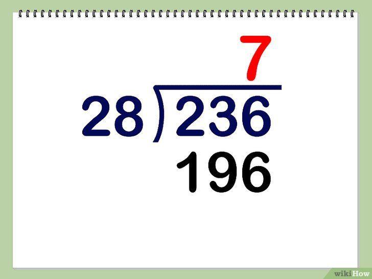 Imaginea intitulată Împărțiți cifrele cu două cifre Pasul 3
