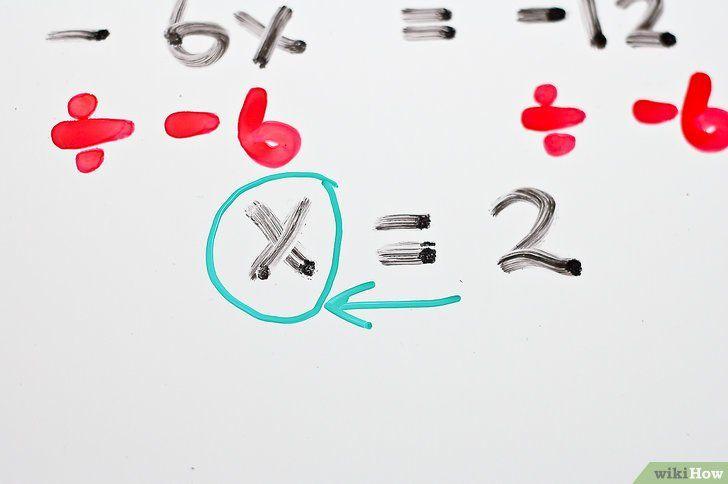 Imaginea intitulată Rezolvă ecuațiile algebrice cu două trepte Pasul 13