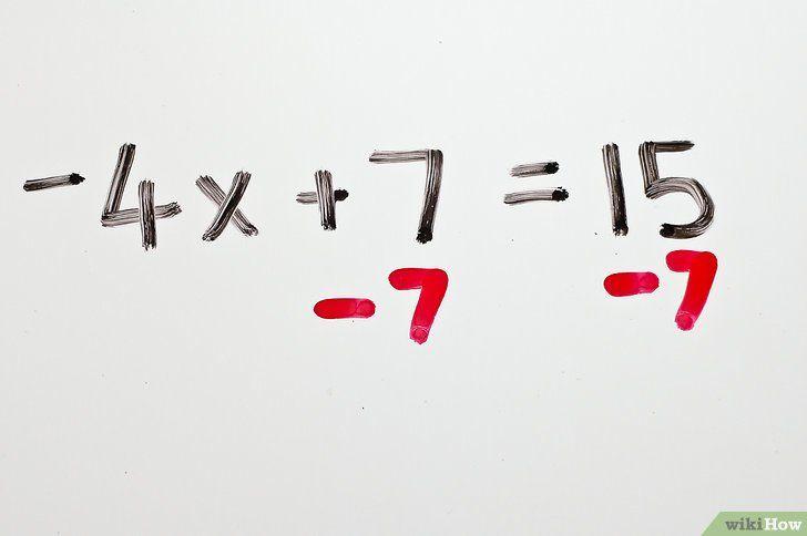 Imaginea intitulată Rezolvă ecuațiile algebrice cu două trepte Pasul 2