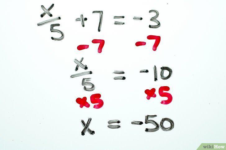 Imaginea intitulată Rezolvă ecuațiile algebrice cu două trepte Pasul 8