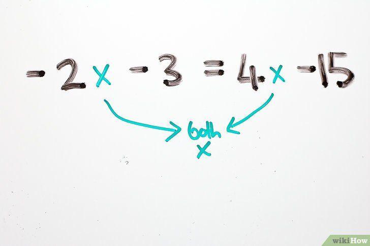 Imaginea intitulată Rezolvă ecuațiile algebrice cu două pași Pasul 9