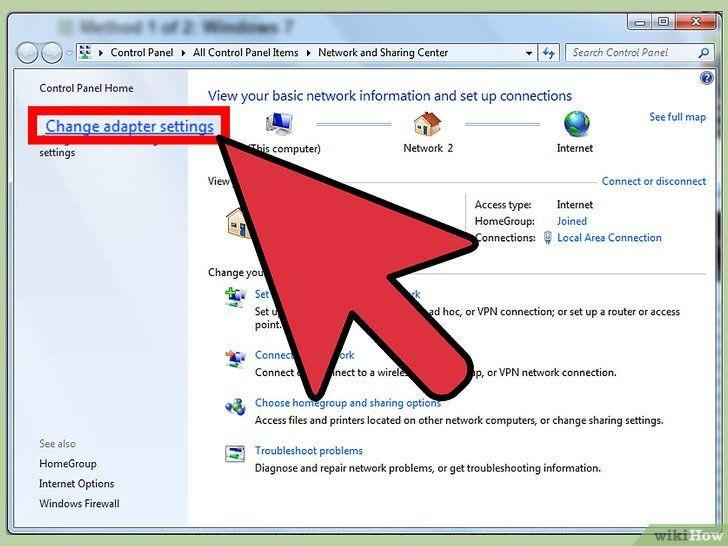 Imaginea intitulată Configurarea unui Vpn între două calculatoare Pasul 4