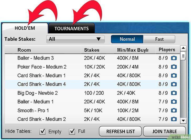 Imaginea intitulată Redați Zynga Poker Step 3Bullet7