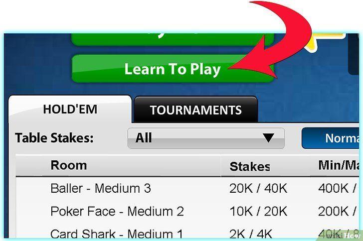 Imaginea intitulată Redați Zynga Poker Pasul 4