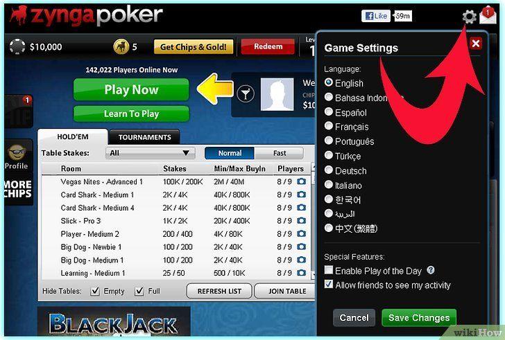 Imaginea intitulată Redați Zynga Poker Step 3Bullet2