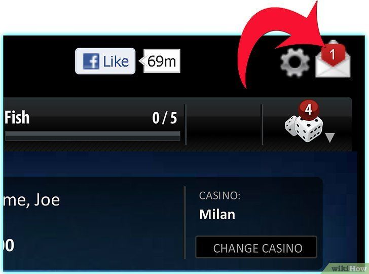 Imagine intitulată Play Zynga Poker Step 3Bullet3