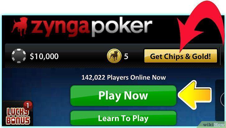 Imagine intitulată Play Zynga Poker Step 3Bullet4